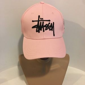 Nwt Pink Stussy Baseball Cap